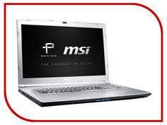 Ноутбук MSI PE72 7RD-837RU 9S7-1799C9-837 (Intel Core i7-7700HQ 2.8 GHz/16384Mb/1000Gb + 128Gb SSD/nVidia GeForce GTX 1050 2048Mb/Wi-Fi/Bluetooth/Cam/17.3/1920x1080/Windows 10 64-bit)