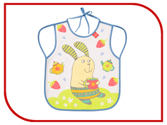 Нагрудный фартук Happy Baby Bib With Hangers Rabit Lilac 16011