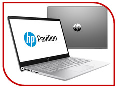 Ноутбук HP Pavilion 14-bf003ur Mineral Silver 2CV30EA (Intel Core i3-7100U 2.4 GHz/4096Mb/1000GB/No ODD/Intel HD Graphics/Wi-Fi/Bluetooth/Cam/14/1920x1080/Windows 10) Hewlett Packard