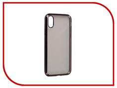 Аксессуар Чехол iBox Blaze Silicone для APPLE iPhone 8 Black frame