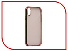 Аксессуар Чехол iBox Blaze Silicone для APPLE iPhone 8 Pink frame
