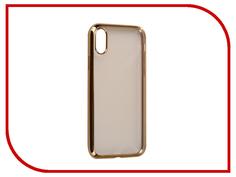 Аксессуар Чехол iBox Blaze Silicone для APPLE iPhone 8 Gold frame