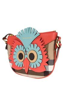 Комбинированная сумка Burberry Children