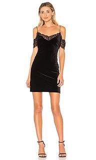Мини платье velvet lace - NICHOLAS