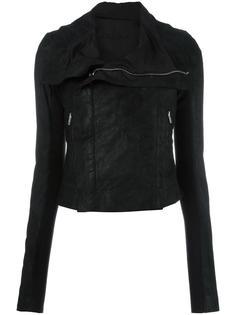 классическая байкерская куртка Rick Owens