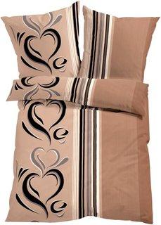 Постельное белье Касандра, фланель (цвет пудры) Bonprix