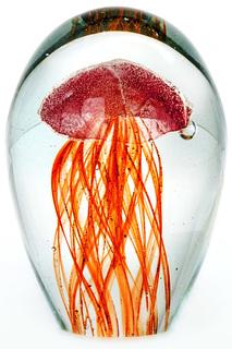"""Стеклянная скульптура """"Медуза"""" James Lamberto"""