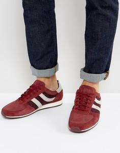 Красные замшевые кроссовки BOSS Orange by Hugo Boss Orland - Красный