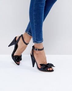 Босоножки на каблуке New Look - Черный