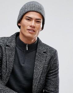 Черная шапка-бини New Look - Черный