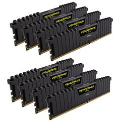Модуль памяти Corsair Vengeance LPX DDR4 DIMM 3200MHz PC4-25600 CL16 - 64Gb KIT (8x8Gb) CMK64GX4M8B3200C16