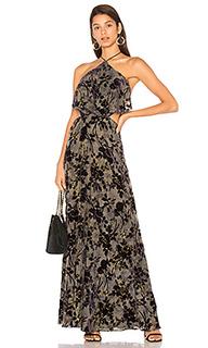 Макси-платье холтер zoe - House of Harlow 1960