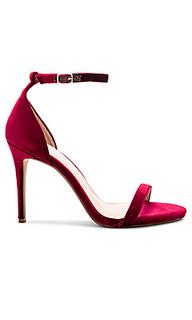 Туфли на каблуке с открытым носком blake - RAYE