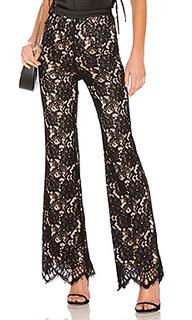 Расклешенные кружевные брюки que bonita - X by NBD