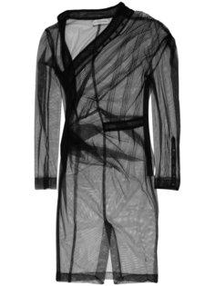 асимметричное платье со сборками A.F.Vandevorst