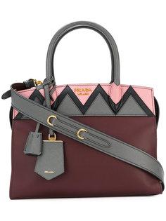 сумка-тоут Esplanade с зигзагообразной панелью Prada