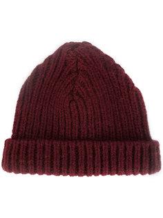 шапка ребристой вязки Marni