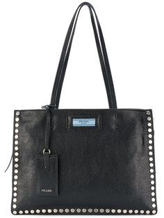 рюкзак с заклепками Prada