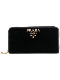 кошелек на молнии Prada