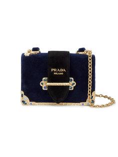 маленькая декорированная сумка  Prada