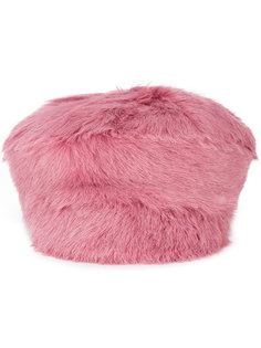 меховая шапка Prada