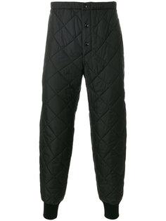 стеганые спортивные брюки на подкладке Marni