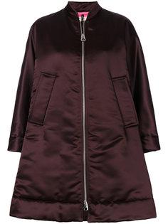 свободное пальто на молнии  Santoni