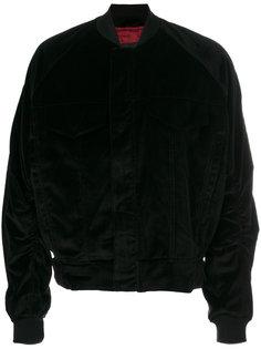 бархатная куртка-бомбер Represent