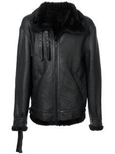 куртка из овчины Unravel Project