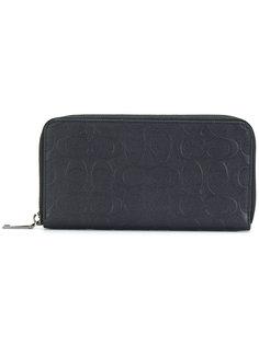 бумажник с круговой застежкой-молнией Coach