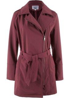 Байкерская куртка-софтшелл (темно-бордовый) Bonprix