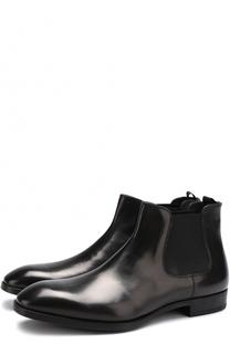 Классические кожаные челси Giorgio Armani