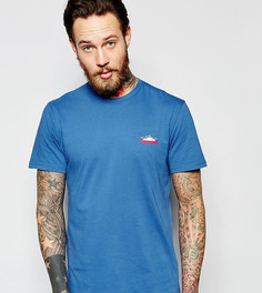 Синяя эксклюзивная футболка с логотипом гор Penfield - Синий