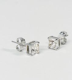 Серьги-гвоздики с кристаллами Swarovski Simon Carter эксклюзивно для ASOS - Серебряный
