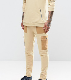 Джоггеры с накладными карманами Underated - Светло-серый