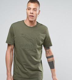 Oversize-футболка цвета хаки Puma эксклюзивно для ASOS - Зеленый