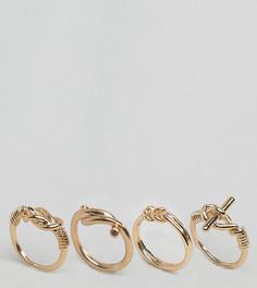 Наборные кольца с декоративными узлами ALDO - Золотой