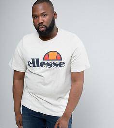 Футболка с классическим логотипом Ellesse PLUS - Светло-серый