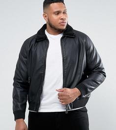 Куртка из искусственной кожи Barneys PLUS - Черный Barneys Originals