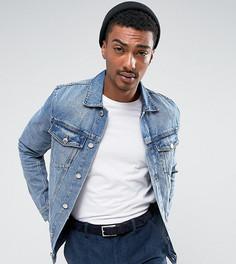 Синяя джинсовая куртка в стиле 90-х Cheap Monday - Синий
