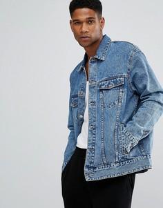 Синяя джинсовая оверсайз-куртка Cheap Monday Chapter 9 - Синий