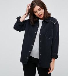 0b6d75d6a4d Джинсовая куртка с заклепками и карманом Alice  amp  You - Черный