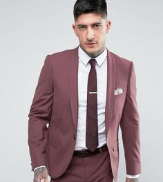 Супероблегающий пиджак Noose & Monkey - Фиолетовый