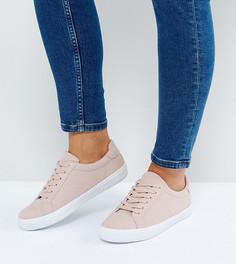 Кроссовки для широкой стопы на шнуровке ASOS DEVLIN - Бежевый