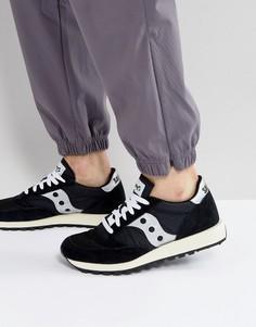 Черные кроссовки Saucony Jazz Original Vintage S70368-10 - Черный