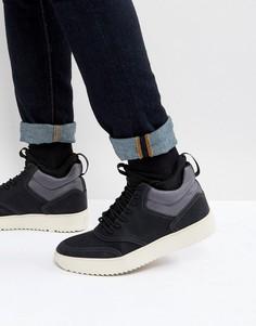 Черные высокие кроссовки Steve Madden Zerodawn - Черный