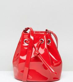 Виниловая сумка Monki - Красный