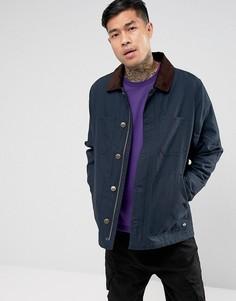 Куртка с вельветовым воротником Dickies - Темно-синий