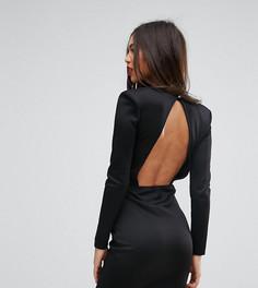 Платье мини с открытой спиной Missguided - Черный