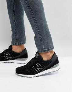 Черные кроссовки New Balance 996 - Черный